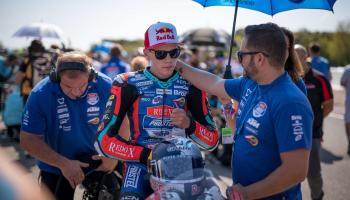 Filip Salac Moto3 Rider