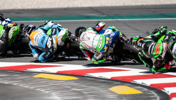 Great performance by José Luis Perez Gonzalez, Victor Rodriguez 20th from 33rd on the grid